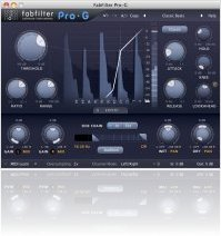Plug-ins : FabFilter Pro-G 1.01 update released - macmusic