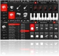 Virtual Instrument : SampleTank for iPhone/iPod touch Now Available from IK Multimedia - macmusic