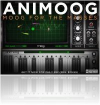 Instrument Virtuel : Moog Animoog Prix Special - macmusic