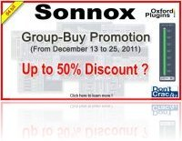 Plug-ins : Sonnox Group-Buy at DontCrack - Up to 50% Discount ? - macmusic