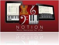Logiciel Musique : NOTION pour iPad avec le London Symphony Orchestra - macmusic