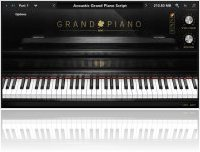 Instrument Virtuel : UVI Acoustic Grand Piano version 2 et offre Spéciale - macmusic