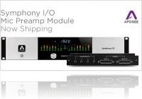 Informatique & Interfaces : Apogee Symphony I/O Mic Preamp Module Commercialisé - macmusic