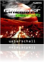 Instrument Virtuel : Ueberschall Présente Cinematic Timeshift - macmusic