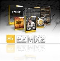 Plug-ins : Toontrack EZmix 2 Multi Effect Mixing Tool - macmusic