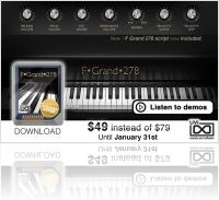 Instrument Virtuel : UVI: Promo sur le F.Grand.278 - macmusic