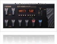 Audio Hardware : Roland GT-100 - macmusic