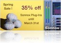 Plug-ins : Sonnox Spring Sale - macmusic