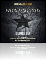 Virtual Instrument : Loops de la Cr�me Launches World Sounds Deluxe Set - macmusic