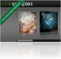 Virtual Instrument : Cinesamples 30% Sales End Monday - macmusic