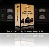 Virtual Instrument : Musicrow Releases Golden Ensembles 3 for NI Reaktor - macmusic