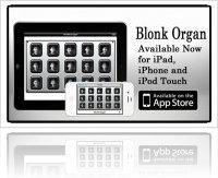 Logiciel Musique : Avant-Apps Présente Blonk Organ pour IOS - macmusic