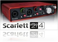 Informatique & Interfaces : Focuriste Présente Scarlett 2i4 - macmusic
