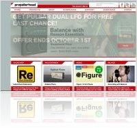 Event : Propellerhead Website Alert! - macmusic