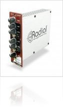 Audio Hardware : Radial introduces the Q4 class-A Parametric Equalizer - macmusic
