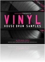 Instrument Virtuel : Zenhiser Présente Vinyl House Drum Samples - macmusic