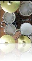 Instrument Virtuel : IPhoneXCoder annonce une Mise à Jour de Real Drums HD - macmusic