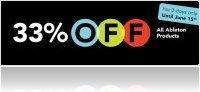 Evénement : Ableton: Remise de 33% - macmusic