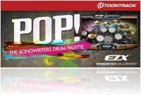 Virtual Instrument : Toontrack Releases the POP! EZX for EZdrummer - macmusic