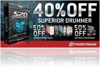 Virtual Instrument : Toontrack Launches Massive Superior Promo - macmusic
