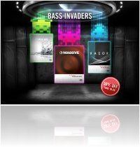 Instrument Virtuel : Native Instruments Lance BASS INVADERS - macmusic
