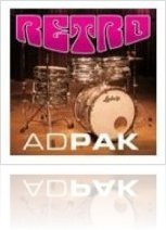 Virtual Instrument : Addictive Drums RETRO ADpak - macmusic