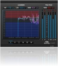 Plug-ins : MeterPlugs Présente LCAST Loudness Meter - macmusic