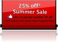 Virtual Instrument : Acousticsamples Launches 2012 Summer Sale! - macmusic