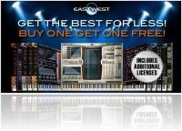 Instrument Virtuel : EASTWEST 1 Acheté=1 Offert! - macmusic