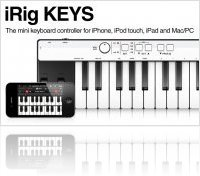 Informatique & Interfaces : IK Multimedia announce iRig KEYS - macmusic