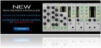 Matériel Audio : Aphex Présente de Nouveaux Modules Série 500 - macmusic