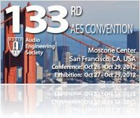 Event : 133rd AES San Francisco 2012 - macmusic
