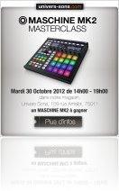 Evénement : MasterClass Maschine chez Univers Sons - macmusic