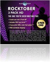 Evénement : ROCKTOBER Promotion à Soundsonline.com - macmusic