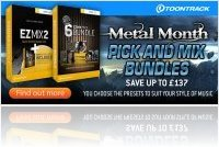 Virtual Instrument : Toontrack Pick and Mix Bundles - macmusic