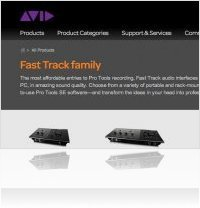 Informatique & Interfaces : Drivers Mountain Lion pour Série Fast Track M-Audio - macmusic