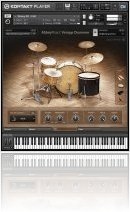 Instrument Virtuel : Native Instruments Présente ABBEY ROAD VINTAGE DRUMMER - macmusic