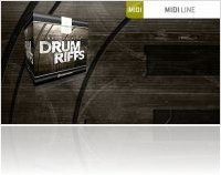 Virtual Instrument : Toontrack Launches Drum Riffs MIDI - macmusic