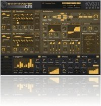 Virtual Instrument : KV331Audio and Computer Music Release SynthMasterCM Software Synthesizer for Windows and Ma - macmusic