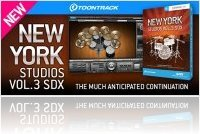 Virtual Instrument : Toontrack's New York Studios Volume 3 - macmusic