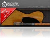Virtual Instrument : Acousticsamples Xmas sale - macmusic