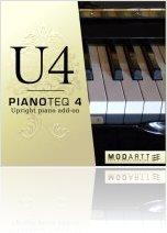 Virtual Instrument : Modartt Releases U4 Upright Piano Pianoteq add-on - macmusic