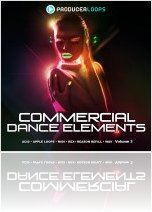 Instrument Virtuel : Producer Loops Lance Commercial Dance Elements Vol 3 - macmusic