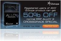 Plug-ins : IZotope Lance une Promo Spéciale Alloy 2 - macmusic