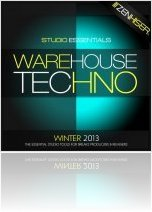 Instrument Virtuel : Zenhiser Présente Studio Essentials - Warehouse Techno - macmusic