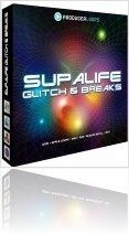 Virtual Instrument : Producerloops Releases Supalife Glitch & Breaks - macmusic