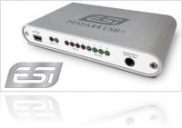 Informatique & Interfaces : ESI Présente la MAYA44 USB+ - macmusic