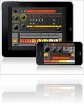 Instrument Virtuel : Elliott Garage EGDR808 Drum Machine v2.0 - macmusic