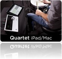 Computer Hardware : Apogee Announces iPad compatibility for Quartet - macmusic