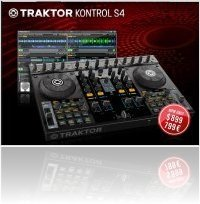 Computer Hardware : Native Instruments Announces Price Drop on TRAKTOR KONTROL S4 - macmusic
